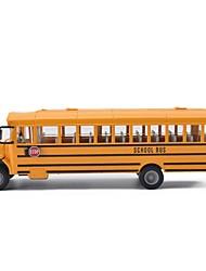 Недорогие -Игрушечные машинки Автобус Автобус Новый дизайн Металлический сплав Детские Для подростков Все Мальчики Девочки Игрушки Подарок 1 pcs