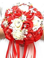 """Недорогие -Свадебные цветы Букеты Свадьба / Особые случаи Полиэстер / пена 7,87""""(около 20см)"""