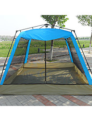 cheap -8 person Family Tent Double Layered Automatic Camping Tent Outdoor Breathability, UV resistant for Camping / Hiking / Caving / Picnic 2000-3000 mm Oxford Cloth, PE, Stainless 220*220*140 cm