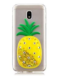 ieftine -Maska Pentru Samsung Galaxy J7 Prime / J5 Prime Scurgere Lichid Capac Spate Fruct Moale TPU pentru J7 Prime / J7 (2017) / J7 (2016)