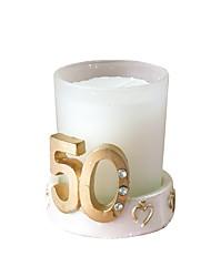 Недорогие -Пляж / Классика Свечи сувениры - 1 pcs Воск Пластмассовая коробка