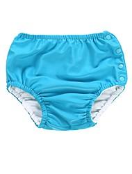 billige -Baby Pige Basale Sport / Strand Ensfarvet Bomuld Shorts