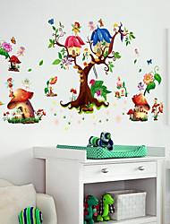 Недорогие -Декоративные наклейки на стены / Наклейки на холодильник - Простые наклейки / 3D наклейки Пейзаж / 3D Детская