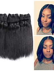 preiswerte -Remi-Haar Haarwebart Beste Qualität / Neuankömmling / Für Damen dunkler Hautfarbe Peruanisches Haar Mittellang 300 g Mehr als ein Jahr Bühne / Karnival / Hochzeitsfeier