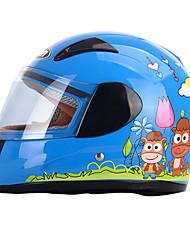 abordables -YEMA 203 Intégral Enfants Unisexe Casque de moto Antichoc / Anti UV / Coupe-vent