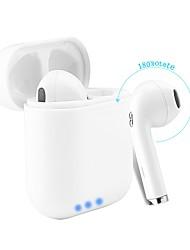 billige -Factory OEM I8mini-tws EARBUD Bluetooth 4.2 Hovedtelefoner Høretelefon ABS + PC Mobiltelefon øretelefon Med Mikrofon / Med opladningsboks Headset