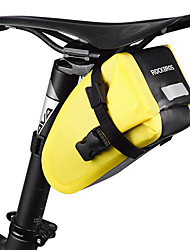 baratos -ROCKBROS Bolsa para Bagageiro de Bicicleta / Malas para Bagageiro de Bicicleta Prova-de-Água, Á Prova-de-Chuva, Tiras Refletoras Bolsa de Bicicleta TPU / Náilon Bolsa de Bicicleta Bolsa de Ciclismo