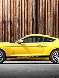 Недорогие -Черный Автомобильные наклейки Спорт Дверные наклейки Не указано Стикеры