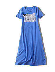 cheap -women's going out t shirt dress midi