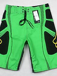billige -Herre Shorts Bukser Farveblok Sort og hvid
