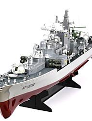Недорогие -Лодка на радиоуправлении HT-2879A Пластик каналы 6 km/h КМ / Ч