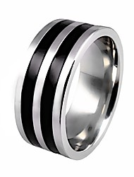 cheap -Men's Lasso Ring - Titanium Steel Stylish, Classic 7 / 8 / 9 Gold / Silver For Daily