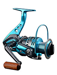cheap -Fishing Reel Spinning Reel 5.5:1 Gear Ratio+12 Ball Bearings Hand Orientation Exchangable Sea Fishing / Lure Fishing