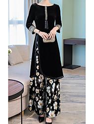 cheap -Women's Set - Geometric Dress