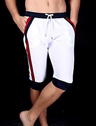 economico -Per uomo Cotone Pantaloni della tuta / Pantaloncini Pantaloni - Monocolore / Sport
