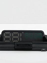 economico -INFOS T900 4.3 pollice Schermo Anolog LCD 420 TVL 1208 x 1208 Sensore CMOS Con filo 60° 10 pcs 60/ 15 ° 90*203.6 pollice Head Up Display Plug-and-Play / Visione notturna per Auto Misura la velocit