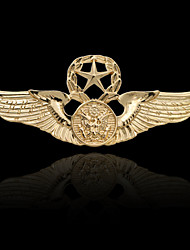 cheap -Men's Stylish Brooches - Trendy, Fashion, Elegant Brooch Gold / Silver For Daily / Holiday