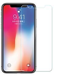 Недорогие -AppleScreen ProtectoriPhone XS Уровень защиты 9H Защитная пленка для экрана 1 ед. Закаленное стекло
