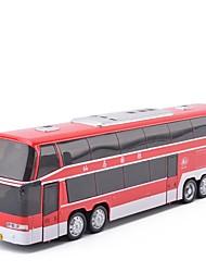 Недорогие -Игрушечные машинки Автобус Транспорт Новый дизайн Металл Детские Все Мальчики Девочки Игрушки Подарок 1 pcs