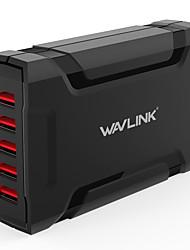 Недорогие -Зарядное устройство USB WAVLINK 5 Настольная зарядная станция С быстрой зарядкой 2.0 Стандарт Австралии Адаптер зарядки