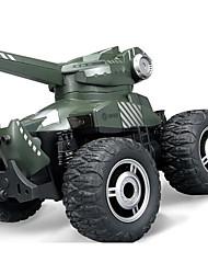 baratos -Carro com CR YED1703 4CH Infravermelho Stunt Car 01:50 15 km/h KM / H