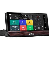abordables -Factory OEM 1080p HD / Vision nocturne DVR de voiture 140 Degrés Grand angle 12 MP 7 pouce IPS Dash Cam avec Wi-Fi / GPS / Vision nocturne Non Enregistreur de voiture