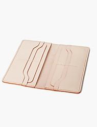 cheap -Women's Bags Cowhide Wallet Zipper Blushing Pink