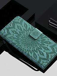 billiga -fodral Till OnePlus OnePlus 6 / OnePlus 5T Plånbok / Korthållare / med stativ Fodral Blomma Hårt PU läder för OnePlus 6 / One Plus 5 / OnePlus 5T