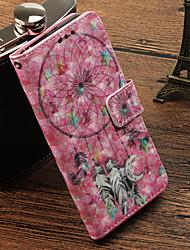 abordables -Funda Para Samsung Galaxy S9 Plus / S9 Soporte de Coche / con Soporte / Flip Funda de Cuerpo Entero Atrapasueños Dura Cuero de PU para S9 / S9 Plus / S8 Plus