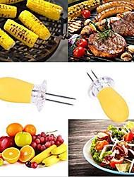 abordables -Outils de cuisine Acier inoxydable + plastique Soirée / Facile à transporter Ustensiles de cuisine Usage quotidien 8pcs