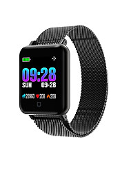 cheap -Smart Bracelet M19 for Android 4.3 and above / iOS 7 and above Heart Rate Monitor / Blood Pressure Measurement / Pedometers / Calories Burned / Touch Screen Timer / Stopwatch / Pedometer / Call