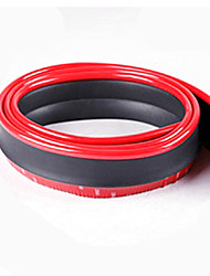 cheap -2.5 m Car Bumper Strip for Car Bumpers External Common Rubber For Honda All years Odyssey / Civic / XRV