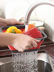 abordables -Herramientas de cocina PÁGINAS Nuevo diseño / Cocina creativa Gadget Canasta de frutas Múltiples Funciones / para vegetal / Para utensilios de cocina 1pc