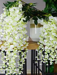 economico -Fiori Artificiali 12 Ramo Da parete Moderno / Contemporaneo / Stile semplice Fiori eterni Ghirlande e fiori da appendere
