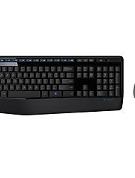 baratos -2.4G Combinação de teclado de mouse Derramamento resistente Alimentado por Bateria teclado escritório Mouse de Escritório 1000 dpi 2 pcs