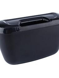 Недорогие -ziqiao автомобиль автомобиль авто мусор мусор может пыль мусорный ящик контейнер для хранения контейнер - черный