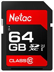 Недорогие -Netac 64 Гб SD-карта карта памяти UHS-I U1 64