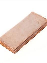 baratos -Sacos de mulher, botões de carteira de couro napa blushing rosa / azul / preto