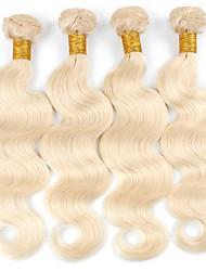 Недорогие -Remy плетение волос 100% девственница Волнистый Перуанские волосы 18 дюймы 400 g 12 месяцев Рождество / Новогодние подарки / Свадьба