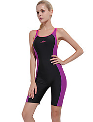 cheap -SBART Women's One Piece Swimsuit Chlorine resistance, Comfortable, Sports Nylon / Spandex Sleeveless Swimwear Beach Wear Bodysuit Patchwork Swimming