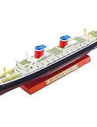 Недорогие -Игрушечные корабли Авианосец Военные корабли Новый дизайн Металлический сплав Детские Для подростков Все Мальчики Девочки Игрушки Подарок 1 pcs