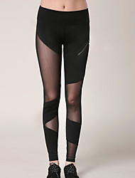 cheap -Women's Daily Basic Legging - Solid Colored Mid Waist