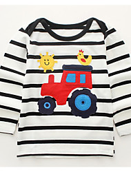 cheap -Kids / Toddler Boys' Striped Long Sleeve Tee