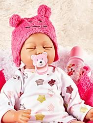 baratos -FeelWind Bonecas Reborn Bebês Meninas 22 polegada realista, Nozes vedadas e seladas de Criança Para Meninas Dom