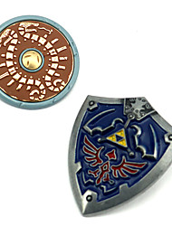 cheap -Cosplay Accessories Inspired by The Legend of Zelda Link Anime Cosplay Accessories Brooch Alloy Halloween Costumes