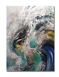 cheap -STYLEDECOR Modern Hand Painted Abstract The Texture Waves on Canvas Oil Painting for Wall Art