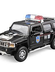 economico -Macchinine giocattolo Auto della polizia Autovetture Vista della città / Fantastico / squisito Metallo Tutti Per ragazzi Regalo 1 pcs
