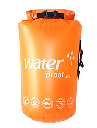 cheap -20 L Waterproof Dry Bag Lightweight, Rain-Proof, Wearable for Swimming / Diving / Surfing