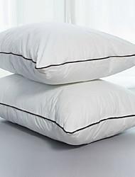 abordables -Confortable-Qualité supérieure Appui-tête Confortable Oreiller Duvet / Plumes Polyester