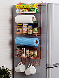 baratos -Utensílios de cozinha Metal Simples Suporte Uso Diário / Para utensílios de cozinha 1pç